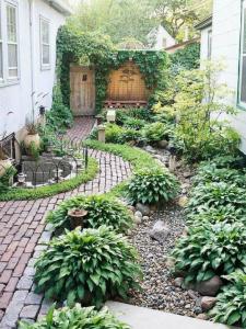 tuincursus-online.nl/kleine tuin waarbij vormen de ruimte indelen
