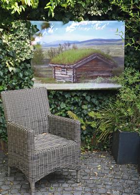 tuinposter op maat in de tuin tuincursus online